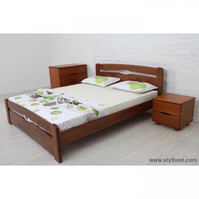 Кровать МиксМебель Каролина (бук, на подъёмной раме)