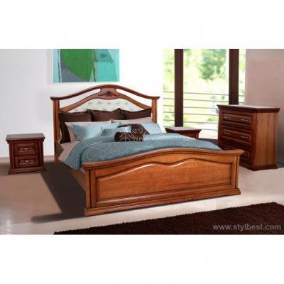Кровать МиксМебель Маргаритта (орех)
