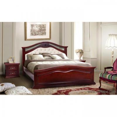 Кровать МиксМебель Маргаритта (каштан)