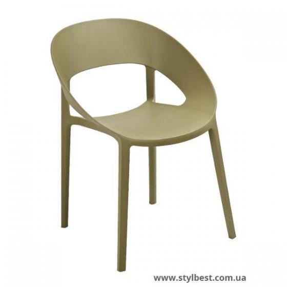 Кресло Шелл (зеленый чай)