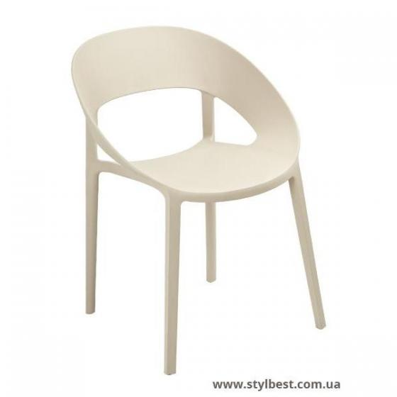 Кресло Шелл (бежевый)