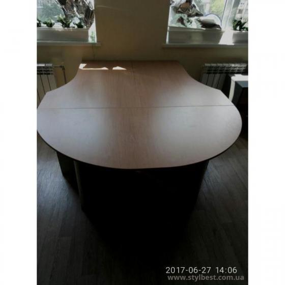 Офисные столы С-25 + приставной элемент ПР 160/70