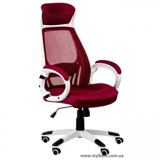 Кресло офисное Briz red (E0901)