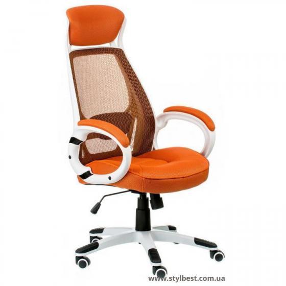 Кресло офисное  Briz orange (E0895)
