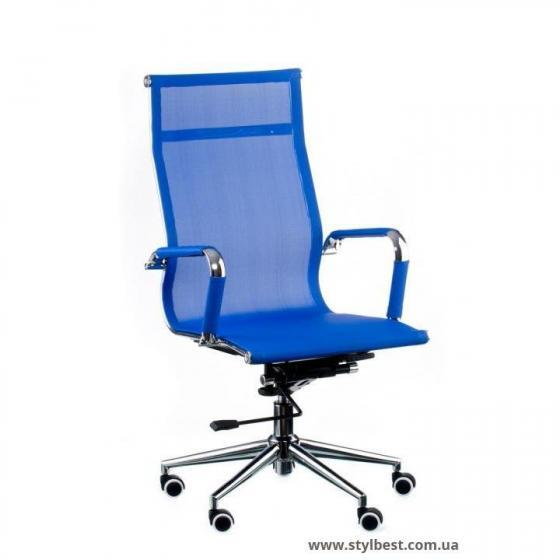 Кресло офисное Solano mesh blue (E4916)