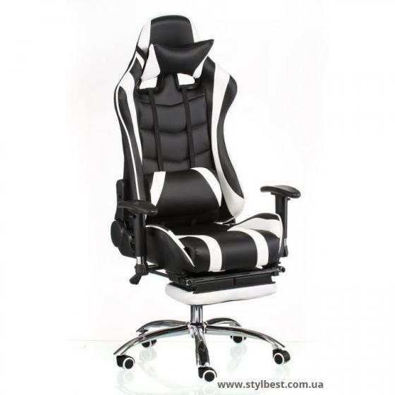 Кресло офисное ExtremeRace black/white (E4770)