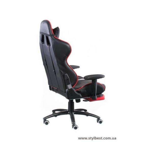 Кресло офисное ExtremeRace black/red with footrest (E4947)