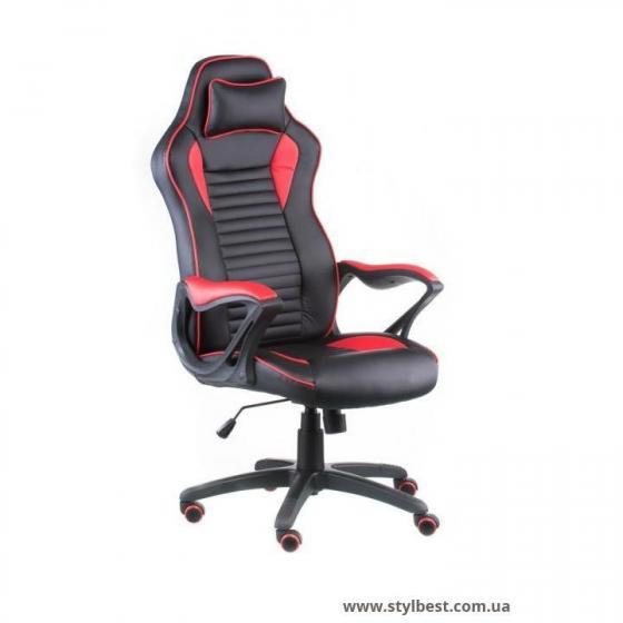 Кресло офисное Nero Black/Red (E4954)