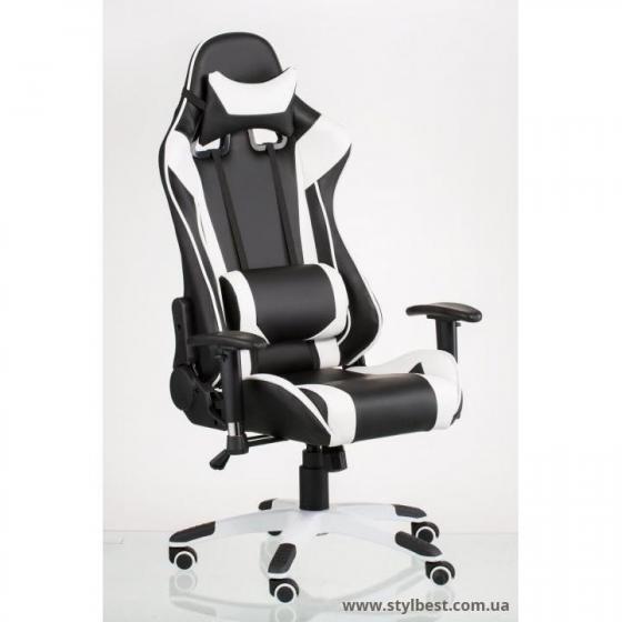 Кресло офисное ExtremeRace blackwhite (E4770)