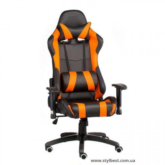 Кресло офисное  ExtremeRace black/orange (E4749)