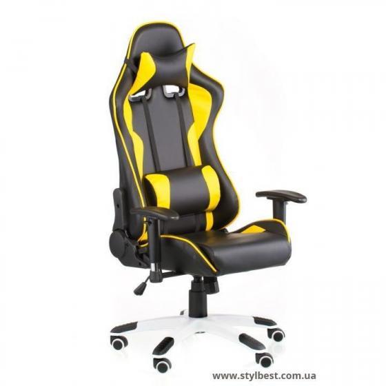 Кресло офисное ExtremeRace black/yellow (E4756)