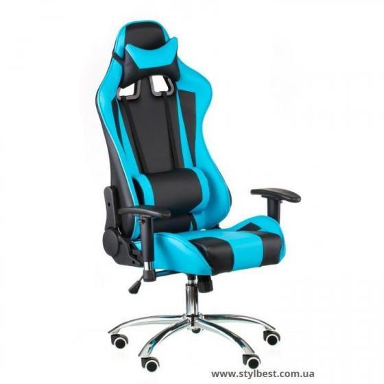 Кресло офисное  ExtremeRace black/blue (E4763)