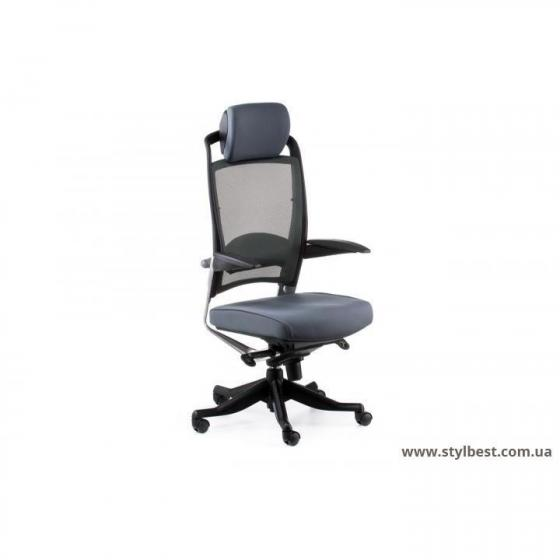 Кресло офисное FULKRUM SLATEGREY FABRIC, SLATEGREY MESH (E0628)