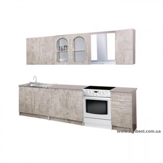 Кухня Пехотин Глорія 2,0м