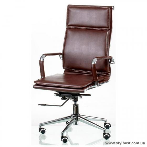 Кресло Special4You Solano 4 artleather brown (E5227)