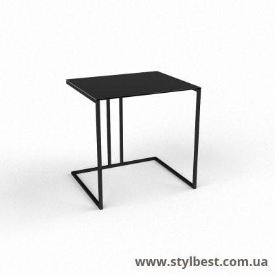 Стеклянный компьютерный стол  Прадо