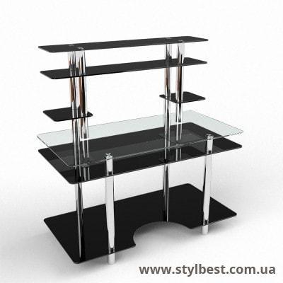 Скляний Комп'ютерний стіл Юніор