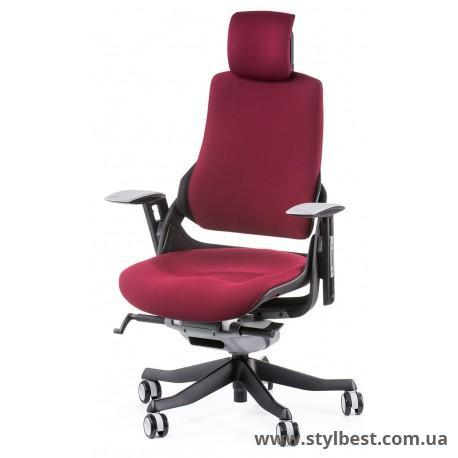 Крісло Special4You WAU BURGUNDY FABRIC (E0758)