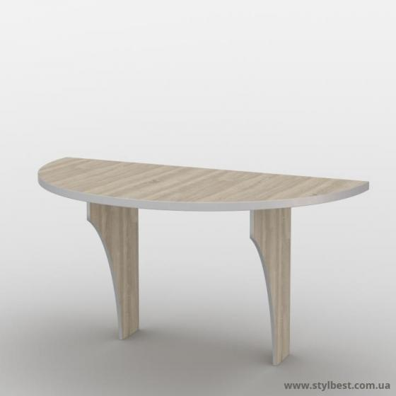 Офісний стіл (приставний елемент) СМ-30/2