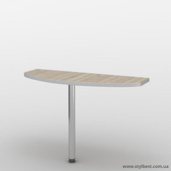Офісний стіл (приставний елемент) СМ-31/2