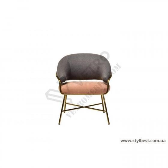 Крісло рожеве Адель