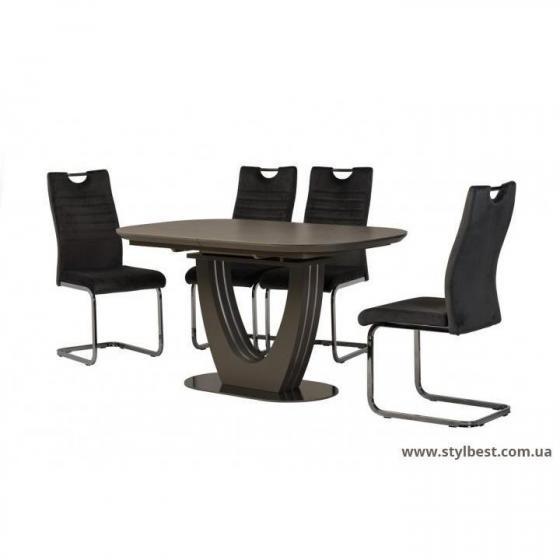 Керамический стол TML-865 серый топаз