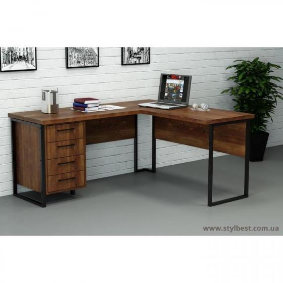 Кутовий стіл з ящиками СУЛ-2