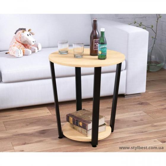 Круглый Журнальный стол D-50